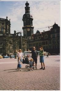 Mark, Suz, Misha & Bonnie.  Dresden, Germany.