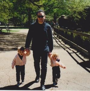 Misha, Mark & Bonnie at Houston Zoo, Texas.