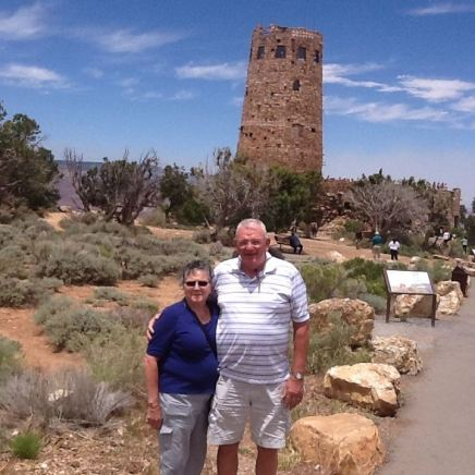 David and Val in the U.S.