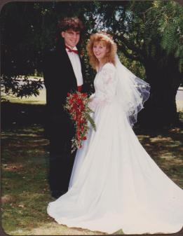 Courageous vows were taken on our wedding day, in light of what would happen in our marriage.